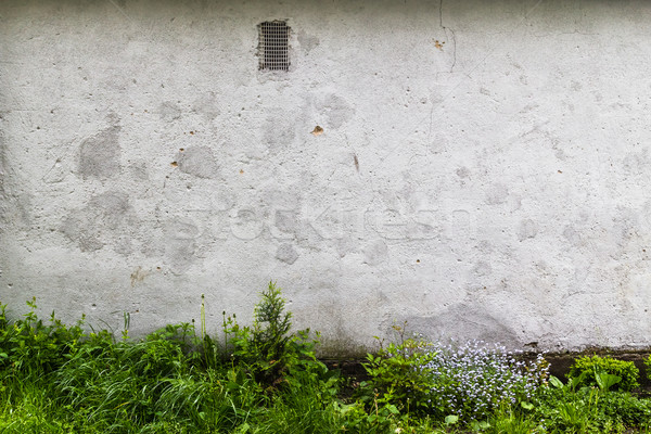 Background grunge exterior old dirty wall Stock photo © fotoaloja