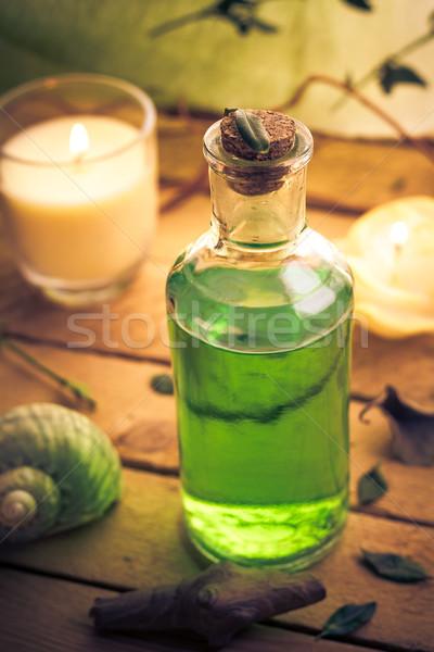 クローズアップ 芳香族の マッサージオイル 健康 健康 ストックフォト © fotoaloja