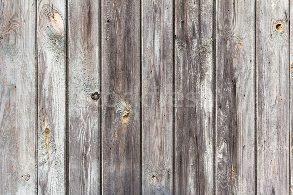 wall wooden planks painted grey white Stock photo © fotoaloja