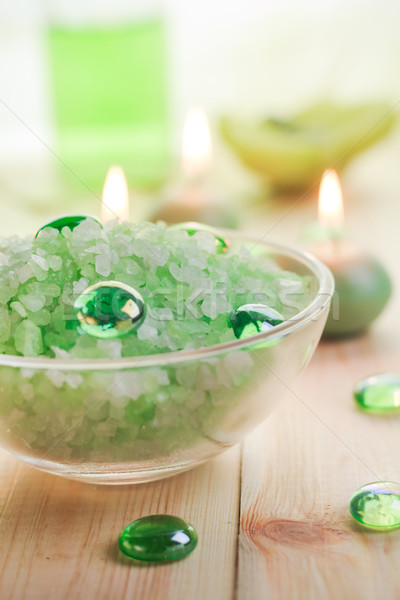 Salt spa wellness session Stock photo © fotoaloja