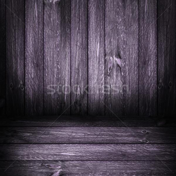 Background wooden panel boards violet Stock photo © fotoaloja