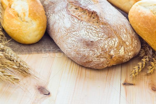 Fresche pane croccante gruppo colazione Foto d'archivio © fotoaloja