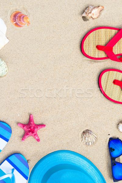 ビーチ 表示 先頭 観光 水 ストックフォト © fotoaloja