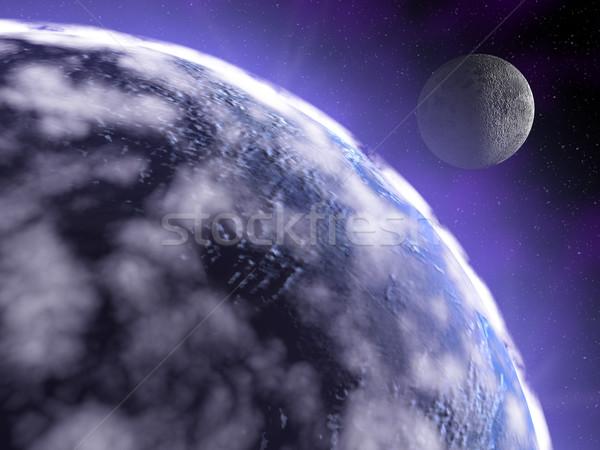 earth in space Stock photo © fotoaloja