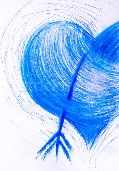 Valentine day heart pierced arrow Stock photo © fotoaloja