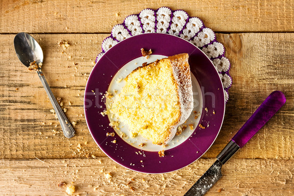 Cake baking food dough sweets dessert Stock photo © fotoaloja