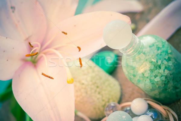 Spa natuurlijke smaken bloem lichaam Stockfoto © fotoaloja