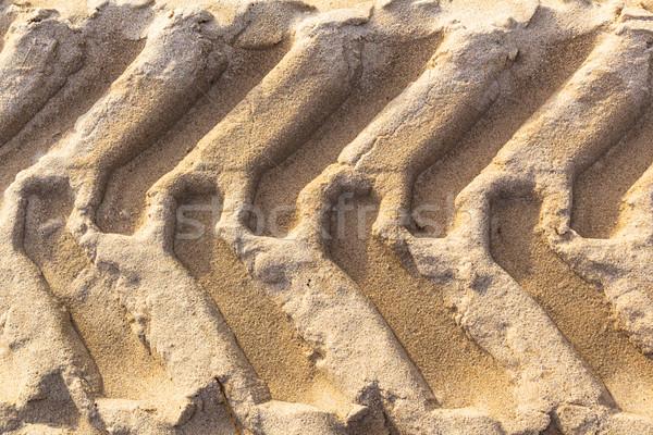 tread pattern tire ground Stock photo © fotoaloja