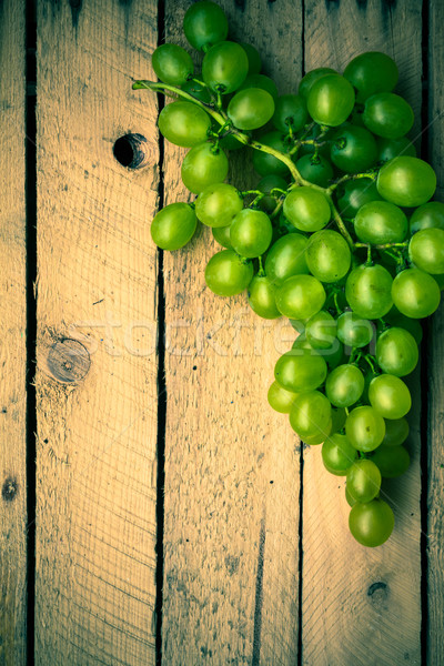 Fruits vintage bois automne alimentaire nature Photo stock © fotoaloja