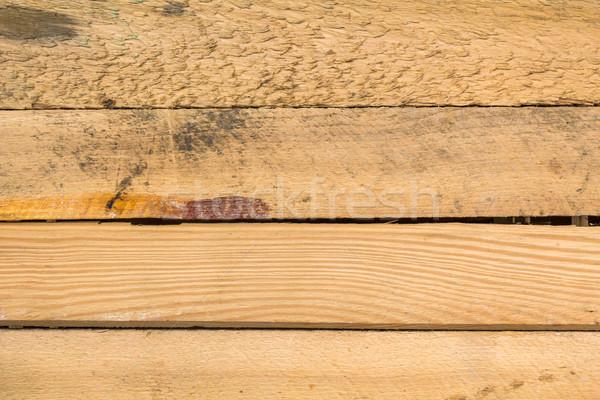 Conselho madeira natureza matéria-prima flor Foto stock © fotoaloja