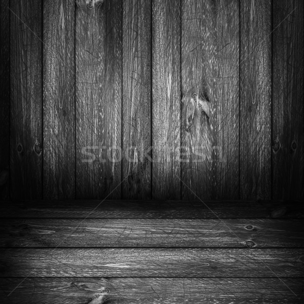 Background wooden panel boards grey Stock photo © fotoaloja