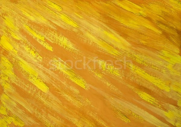 Brosse texture peint peinture pinceau mur Photo stock © fotoaloja