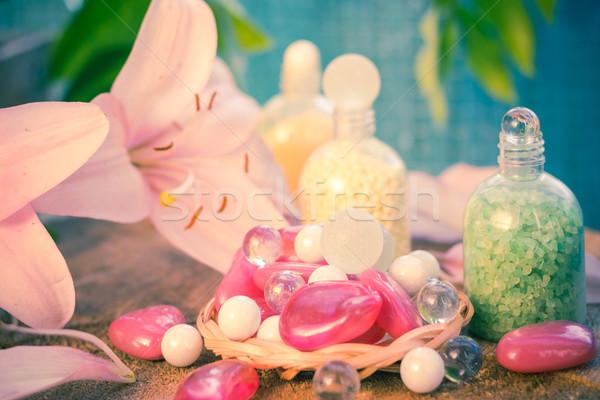 Spa naturale sapori fiore corpo Foto d'archivio © fotoaloja