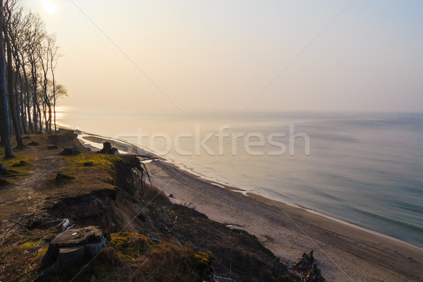 Kıyı baltık denizi öğleden sonra geç bahar deniz Stok fotoğraf © fotoaloja