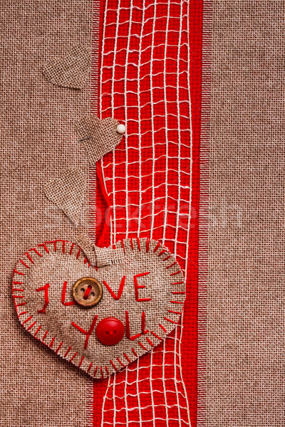 San valentino cuore amore texture wedding abstract Foto d'archivio © fotoaloja