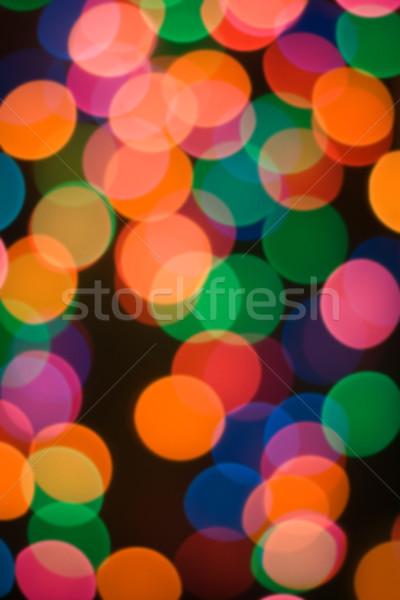 background with lights motive Stock photo © fotoaloja