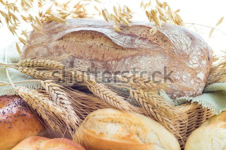 Ears grain bakery products Stock photo © fotoaloja
