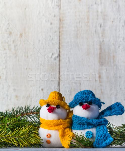 совета Рождества зима плюш мягкой Сток-фото © fotoaloja