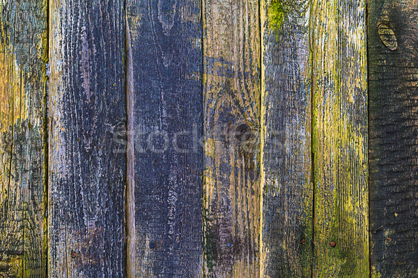 closeup old wood planks texture background  Stock photo © fotoaloja