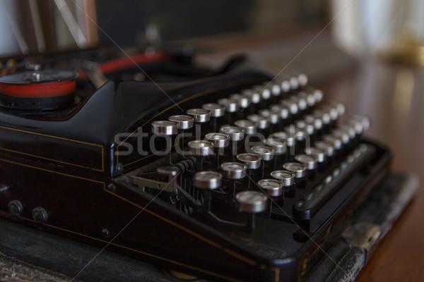 古い タイプライター アンティーク 写真 ヴィンテージ シミュレーションした ストックフォト © fotoduki