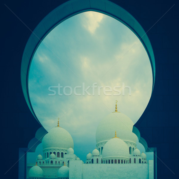 синий белый мечети история наследие Сток-фото © fotoduki