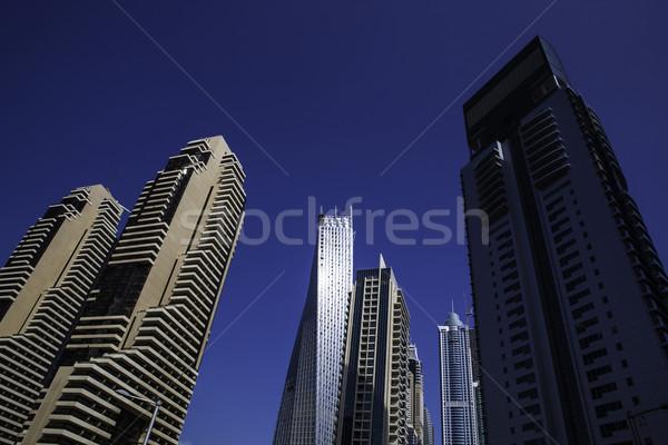 高い 高級 青 建物 超高層ビル 現代建築 ストックフォト © fotoduki