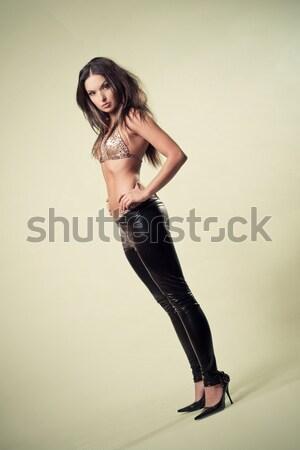 leather tights Stock photo © fotoduki