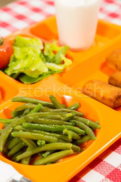 Tray of food Stock photo © fotoedu