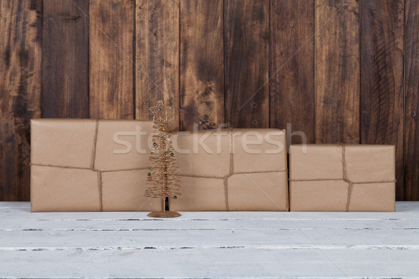 Christmas gift box Stock photo © fotoedu