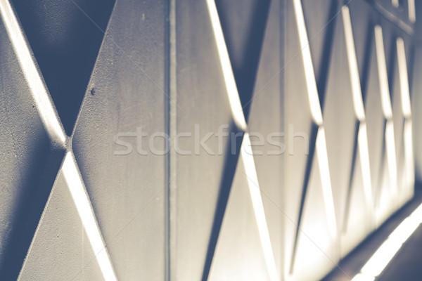 éjszaka fények árnyékok Barcelona textúra épület Stock fotó © fotoedu