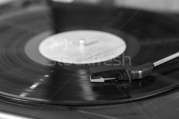 Vintage record player Stock photo © fotoedu