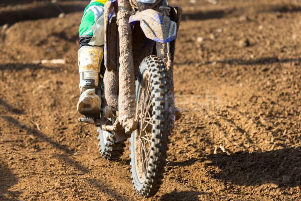 Motocross Stock photo © fotoedu