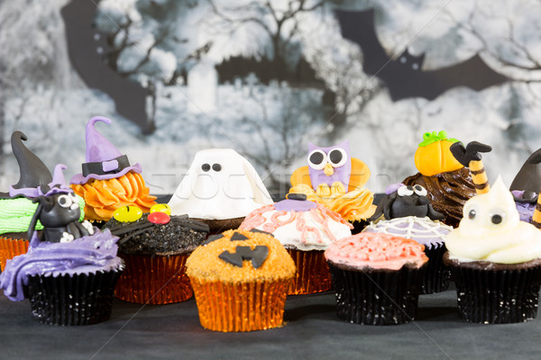 Хэллоуин дома продовольствие вечеринка Сток-фото © fotoedu