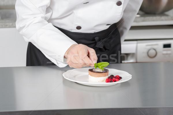Cook desserts Stock photo © fotoedu