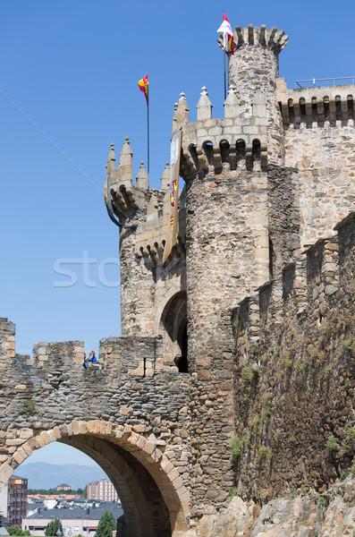 Castle of the Templars Stock photo © fotoedu