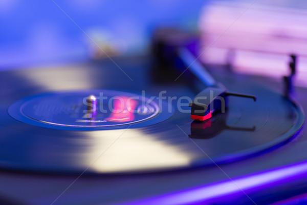 Turntable Stock photo © fotoedu