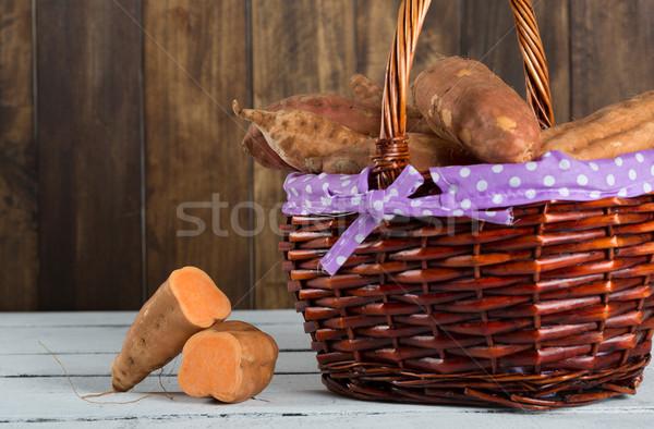 Sweet potatoes season Stock photo © fotoedu