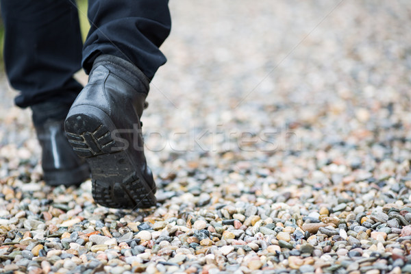 Walking on the rain Stock photo © fotoedu