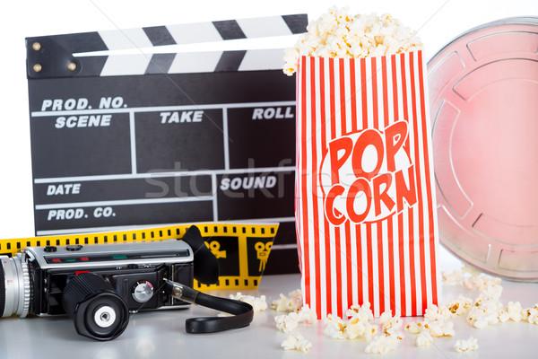Popcorn pot Stock photo © fotoedu