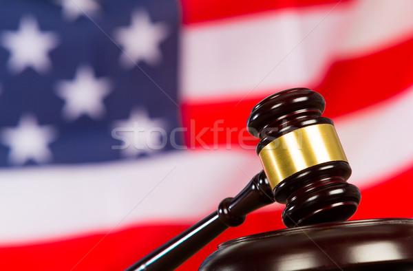 Judge s hammer Stock photo © fotoedu