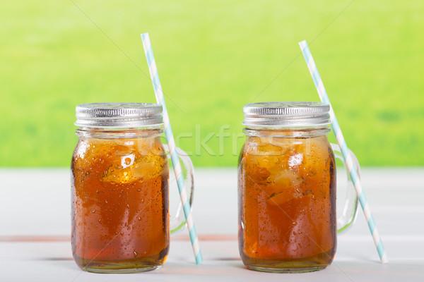 Ice tea Stock photo © fotoedu