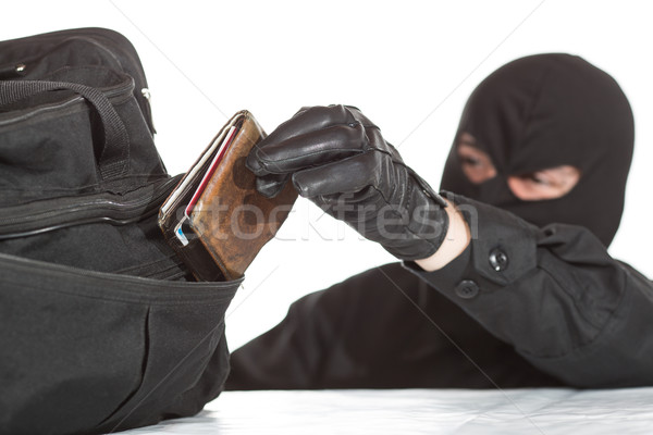 Thief stealing a wallet Stock photo © fotoedu