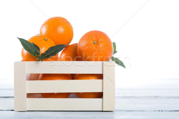 Cuadro frescos naranjas Valencia España alimentos Foto stock © fotoedu