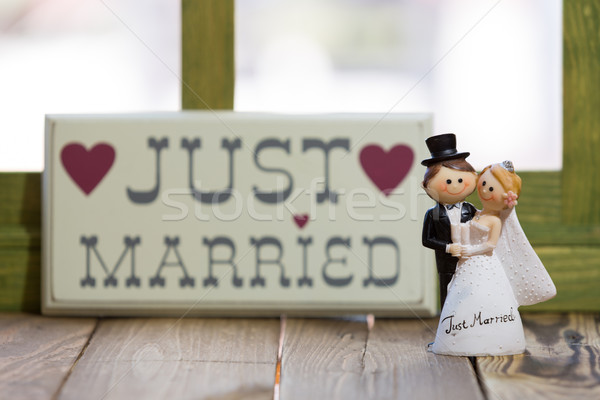 Wedding Dolls Stock photo © fotoedu