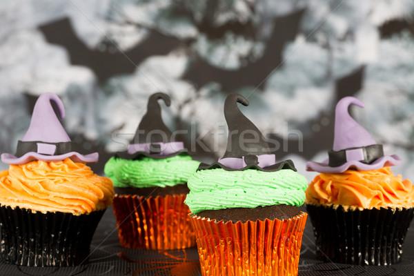 Halloween Cupcakes Stock photo © fotoedu