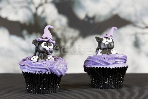 Halloween odznaczony żywności strony Zdjęcia stock © fotoedu