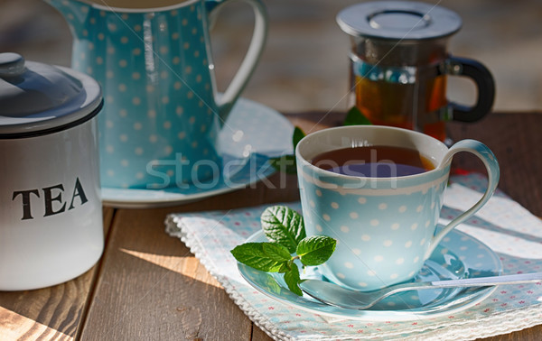 Cup of tea Stock photo © fotoedu