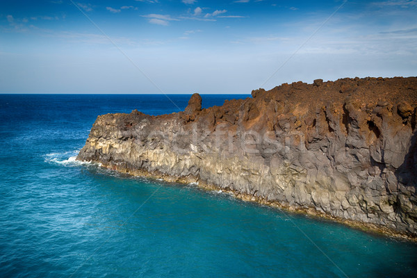 пейзаж острове Канарские острова Испания свет искусства Сток-фото © fotoedu
