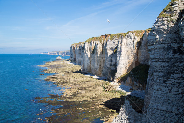 Uçurum kayalar doğal kemer işaret mavi Stok fotoğraf © fotoedu
