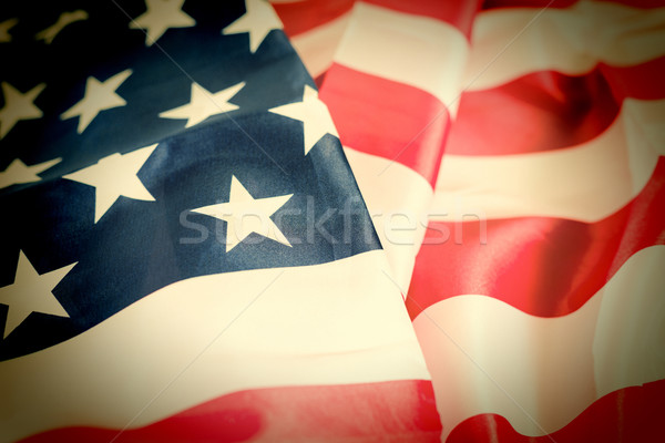 Bandeira Estados Unidos abstrato fundo arte Foto stock © fotoedu